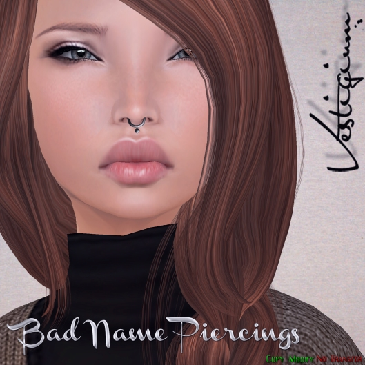 Vestigium - Bad Name Piercings Ad